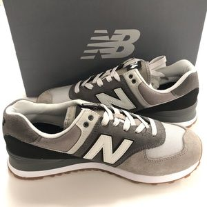 NEW BALANCE 574 Evergreen Suede Sneakers | Size 10